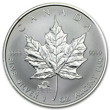 2000 Canada 1 oz Silver Maple Leaf Lunar Dragon Privy - SKU #24511