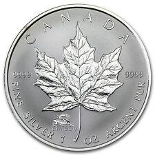 2000 Canada 1 oz Silver Maple Leaf Lunar Dragon Privy - SKU #24511