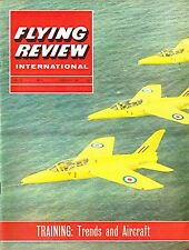 FLYING REVIEW INT FEB 65: PRESSURISED RAF TRAINER/ BAC 111/ AERMACCHI TRAINER