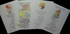 50 PRECIOUS MOMENTS SWEET INVITATIONS MANY DESIGNS CUSTOM PERSONALIZED FOR YOU