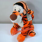 "Disney Winnie The Pooh Tigger PLUSH Stuffed Animal Sitting 15"" Soft Toy NWT"