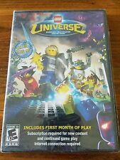 LEGO Universe  (PC, 2010) Complete For Lego Fans Or Collectors MINT Condition