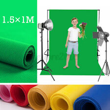 3x5FT Durable Wrinkle Free Chromakey Solid Color Screen Backdrop