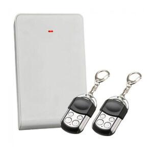 BOSCH Alarm Remote Kit Receiver B810 + 2 Premium Metal Remotes Suit 3000