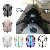 Premium Windshield Windscreen Double Bubble Compatible for YAMAHA R3A 2019-2020,