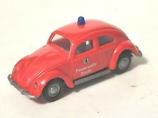 Praline 1952 VW Beetle 1200 Feuerwehr Berlin (Fire Dept) - 1:87 HO Scale