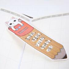 30pc Creative Cute Reading Cat Bookmark Paper Kawaii Stationery Cartoon Bookmark