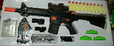 "27"" BIG TWIN ONE  WATER JELLY BALL & SOFT INFRARED BULLET BLASTER GUN"