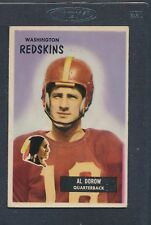1955 Bowman #077 Al Dorow Redskins VG/EX *1050