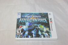 Metroid Prime: Federation Force (Nintendo 3DS, 2016) Brand New Factory Sealed