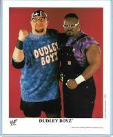 WWE DUDLEY BOYZ P-572 OFFICIAL LICENSED AUTHENTIC ORIGINAL 8X10 PROMO PHOTO RARE