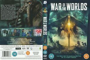WAR OF THE WORLDS 2021 DVD SCI FI HORROR THE ASYLUM GORE ALIENS NEW RELEASE