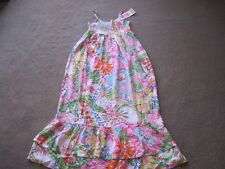 NWT LILLY PULITZER FOR TARGET FLOWING SPRING/SUMMER FLORAL PRINT DRESS 14-16GIRL