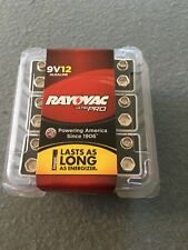Rayovac  Ultra Pro Alkaline Batteries 9V 12/Pack Nov. 2018