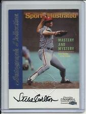 1999 FLEER GREATS OF THE GAME HOF STEVE CARLTON AUTOGRAPH PHILADELPHIA PHILLIES