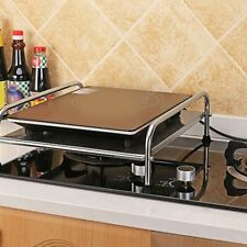 Stainless Steel Gas Burner Stove Stand Kitchen Cooking Rack Protective Brackets