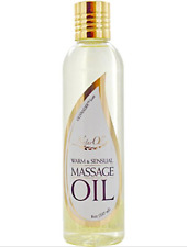 NaturOli Warm and Sensual Massage Oil -100% Natural Blend. - Unisex Body Oil - -