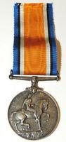WW1 British Silver 1914 1918 War Medal RAF RFC Royal Air Force Sergeant nice!
