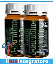 Acetil Carnitina 1000mg dimagrante brucia grassi dimagrire 2 BOX  60cpr