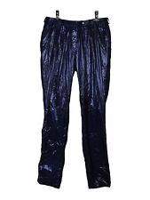 NEW Preen by Thornton Bregazzi blue/navy shiny trouser