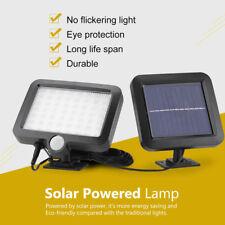 Waterproof 56 LED Solar Powered Lamp Outdoor Garden Yard PIR Motion Sensor Light
