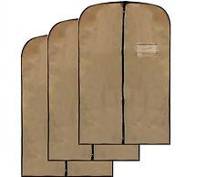 Men's Coat Blazer cream cover Foldover Breathable Garment Bag Gliter