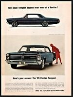 1965 PONTIAC TEMPEST Classic Sixties Car Photo AD