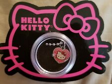 Hello Kitty Necklace in a little plastic box~Heart shaped charm