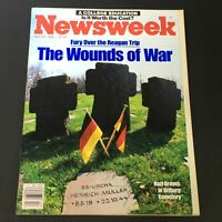VTG Newsweek Magazine April 29 1985 - Ronald Reagan Trip / Wounds of War