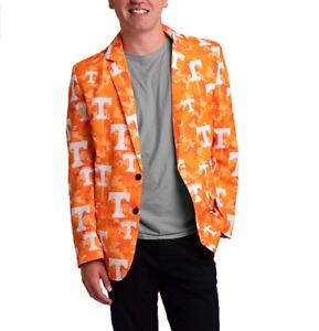 FOCO NCAA Men's Tennessee Volunteers 2019 Repeat Logo Camo Business Jacket