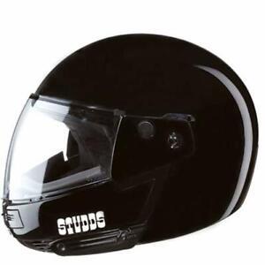ISI ATV Motorcycle Helmet Studds Ninja Pastel Plain Black full face ABS
