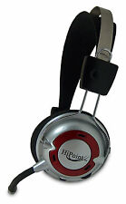 COMFORTABLE 3.5MM HEADPHONES HEADSET WITH MICROPHONE MIC FOR COMPUTER PC LAPTOP