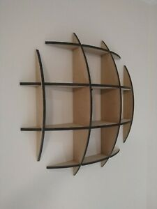 Wall Mounted Dome Shelf