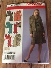S4014 New Uncut Classy Dress Jacket Size 10 12 14 16 18