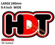 NEW HOLDEN HDT DECAL STICKER LABEL LARGE 240 MM