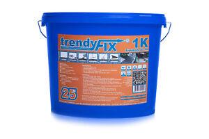 trendyFIX 1K Pflasterfugenmörtel 25 kg | Feste Fuge | unkrautfrei | Steingrau