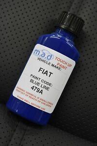 30ML TOUCH UP PAINT BOTTLE FIAT BLUE LINE 479A SCRATCH CHIP