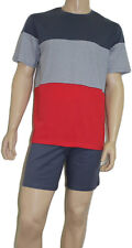 Herren Schiesser Schlafanzug Pyjama Shorty kurz  MS129   Gr. 48 / S   UVP 58,95