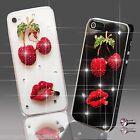 3D BRILLANTE LUJOSO DIAMANTE MONEDERO FUNDA 4 SAMSUNG iPHONE SONY HTC 5 5S 6