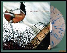 CIRCA SURVIVE Juturna LP on SPLATTER  VINYL New SEALED Grey/Blue