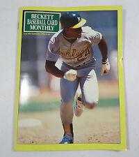 Beckett Baseball Card Monthly Price Guide September 1990 #66 Rickey Henderson