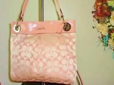 NWT  Coach Ashley Signature Hippie Crossbody Rare Pink Purse Handbag 17599