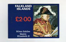 Falkland Islands 25th Anniv QE2 Silver Jubilee Royalty Booklet. SEE Scan