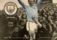 Manchester City v Everton 19/20 Premier League Programme