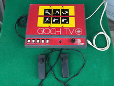 CONSOLE GIOCO VIDEO - GIOCHI TV REEL , vintage Anni '80 con joystick