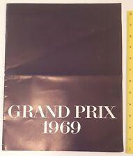 "RARE VINTAGE CDN. (OSHAWA) ""1969 PONTIAC GRAND PRIX J & SJ"" SHOWROOM BROCHURE"