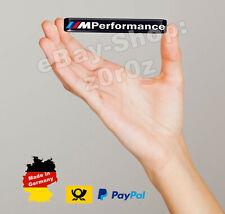 BMW M Performance Emblem Aufkleber Sticker 3D Gel Doming Tuning Schwarz Logo
