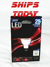 Feit LED 12 Volt MR11 25 Watt Equicalent 4W Actual G4 Base Track Lighting Bulb