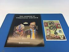 ***VF Joe Coleman - THE MYSTERY OF WOOLVERINE WOO-BAIT. Signed!!