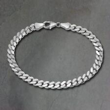 Silberdream 19cm Réservoir de Sangle Brillant Argent Bijoux pour Hommes et
